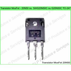 Mosfet Sihg20n50c G20n50c 20n50 To-247 Original - B13
