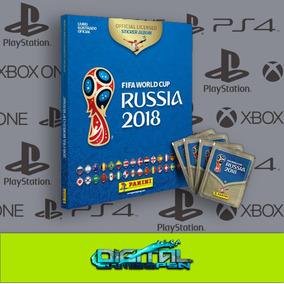 Copa Do Mundo 2018 Álbum Capa Dura + 500 Figurinhas