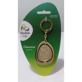 Chaveiro Olimpiadas Rio2016 Logomarca Jogos Olimpicos Brasil
