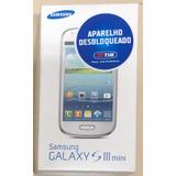 Celular Samsung Galaxy S 3 Mini Original Na Caixa- Impecável