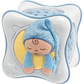 Móbile Musical Projetor Chicco Rainbow Cube - Azul