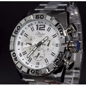 Relógio Condor Masculino Civic Dual Time Covd33aa/4k