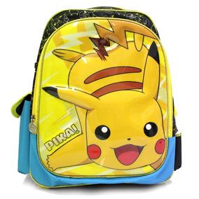 Mochila Primaria 3d Pikachu® Pokemón Envío Gratis :)
