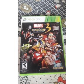 Jogo Xbox 360,marvel Vs Capcom 3