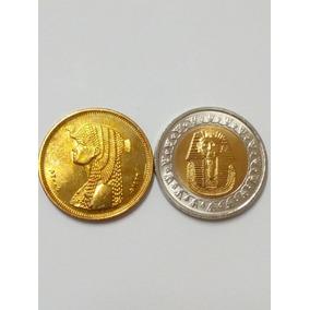 Moedas Do Egito Cleopatra E Tutancamom