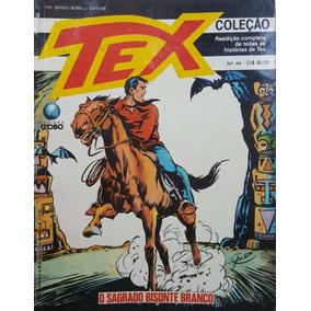 Hq Tex Coleção 44 Globo: Sagrado Bisonte 100pg 1990 (b) E06
