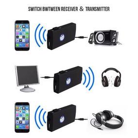 2 Em 1 Transmissor E Receptor De Audio P2 3.5mm Bluetooth
