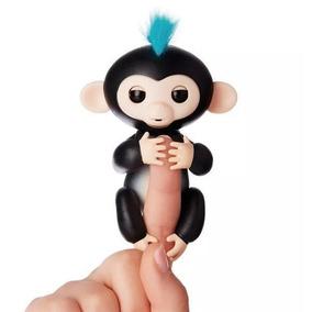 Boneco Happy Monkey Fingerlings Interativo C Sensor De Toque