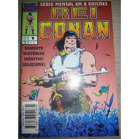 Gibi Rei Conan Nº 1 Editora Abril 1995
