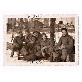 Fotografia Antiga Pracinhas Da Feb - Pistoia - Ii Guerra