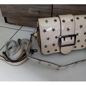 2de42e881bc9e Bolsa Feminina Inspired Verniz Com Apliques Mini Bag