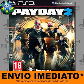 Ps3 Payday 2   Psn Midia Digital   Envio Agora - Promoção