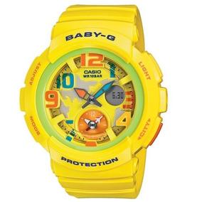 Relógio Baby-g Bga-190-9bdr (amarelo)