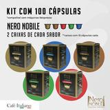 100 Cápsulas Café Nero Nobile- Sistema Nespresso