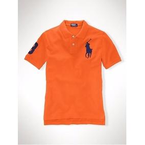 Polo Ralph Lauren Juvenil Camisa Polo Big Pony Várias Cores! 3a05ae84b5d