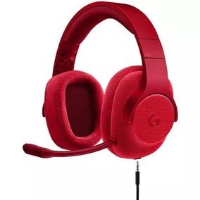 Logitech G433 Auriculares Para Gaming 7.1 (rojo)