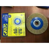 Cepillo Grata Circular 10 Pulg (250mm). De Acero Bp