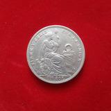 Moneda Un 1 Sol De 5 Decimos Finos 1924
