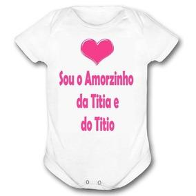 Body Sou Titio Bodies De Bebê No Mercado Livre Brasil