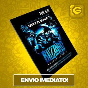 Cartão Battle.net Blizzard R$ 50 Reais Wow World Of Warcraft
