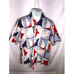 Camisa Nautica T- L Id V164 $$ C Detalle Promo 3x2 Ó 2x1½