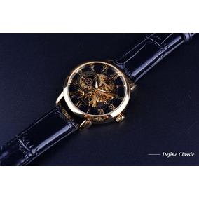 Relógio Masculino Forsining 3d Luxo