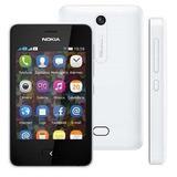 Celular Nokia Asha 501 Dual Chip 3.2mp, Wi-fi, 4gb, Mp3
