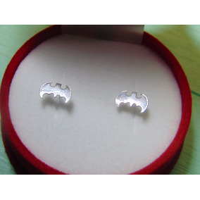 Aretes Batman / Superman, Plata 925.