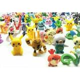 Figuritas Pokemon Set 72 Unid. + 1 Pokebola (envio Gratis)