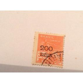 Selos 1928/30 (vovo) 200/300 Reis Sobrecarga Preta
