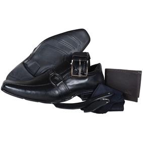 d3a2e70e4 Kit Mariner Sapato Meia Cinto Masculino Calvest - Sapatos no Mercado ...