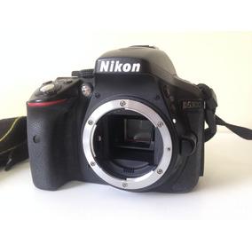 Câmera Nikon D5300 Semi-nova + Af-p 18-55mm Vr + Cartão 32gb