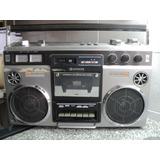 Radiograbador Boombox Ghettoblaster Hitachi Trk-8155w Japan