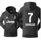 Blusa Moleton Juventus Cr7 Cristiano Ronaldo Futebol Italia