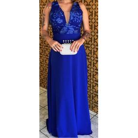 Vestidos de madrinha cor azul royal