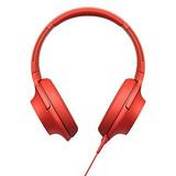 Audífonos Marca Sony Sonido Alta Resolución Color Rojo