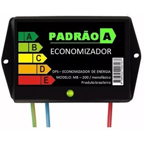 Economizador De Energia Elétrica Monofásica 5%a 40% Economia