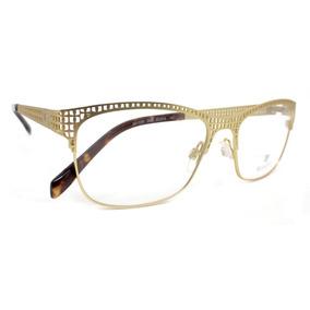 Armaco De Oculos Bulget Dourada - Óculos con Mercado Envios no ... 63797c0b75