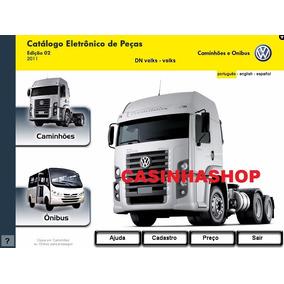 Catálogo Eletrônico De Peças Vw Cam 2011 Ed2 + Lista Preços