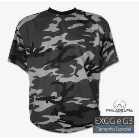Camiseta Camuflada G2 - Camisetas e Blusas no Mercado Livre Brasil 520eb9405a3