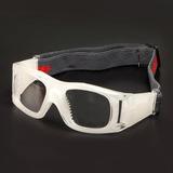 52aef769bfd39 Óculos Proteção Branco Futebol Basquete Esportes Radicais S1