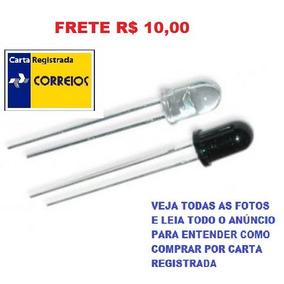 Kit 20 Leds Infravermelho Receptor E Emissor Frete R$ 10,00