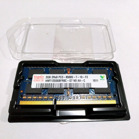 Memória Hynix 2 Gb Ddr3 Pra Notebook 8500s Hmt125s6bfr8c-g7