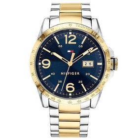 Relógio Tommy Hilfiger Aço Prateado E Dourado - 1791453