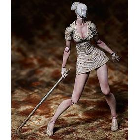 Boneco Silent Hill 2 Boneca Enfermeira Pvc Coleção 15 Cm