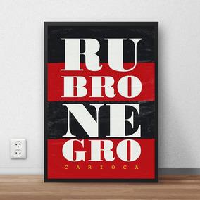 Quadro Rubro Negro - Flamengo (30x40cm)