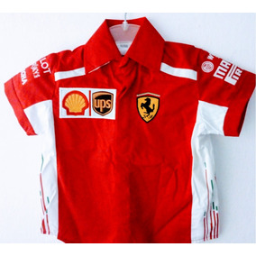 Bonita Camisa Tipo Formula 1 Escuderia Ferrari Talla Xl en Mercado ... 95383d49458