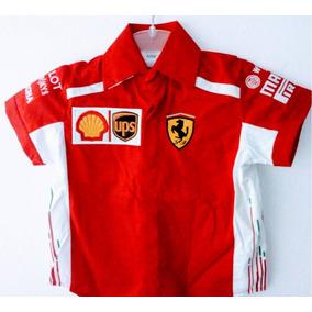Camisa Ferrari F1 Formula1 Pirelli Rally Ups Caballero 890140d0f5ea2