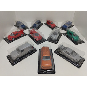 Kit Com 11 Miniaturas De Carros Escala 1:43 - Guisval