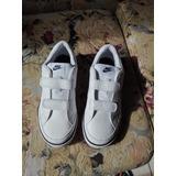 Zapatilla Blanca Nike Original Talla 33
